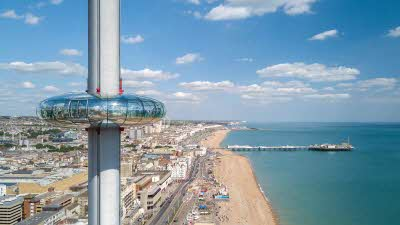 Offer image for: British Airway i360 - Save 10% on standard flights.