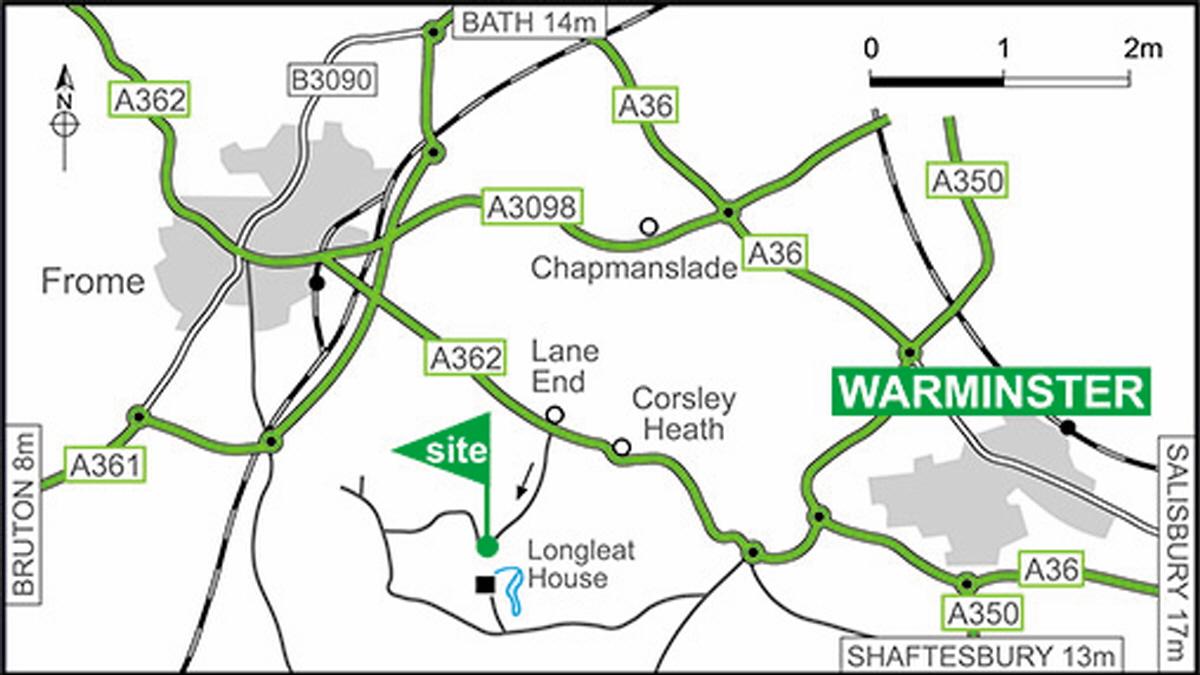Longleat Club Site The Caravan Avan Wiring Diagram Directions