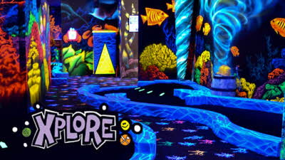 Offer image for: 4D Golf at Xplore - Two for the price of one.