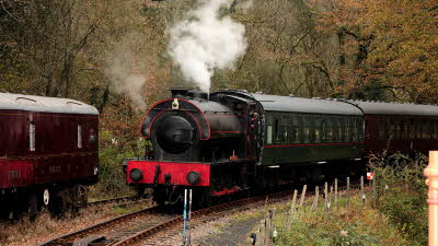 Offer image for: Gwili Railway - Two for the price of one adult tickets or kids go free - code CC2020