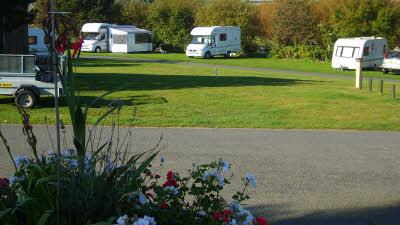 White House Beach Caravan Club Site Suffolk