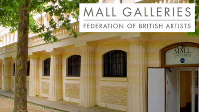 Offer image for: Mall Galleries - Free entry for two on all FBA Society Exhibitions (normal price £8).