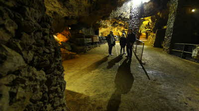 Offer image for: Clearwell Caves - Ancient Iron Mines - One free child when accompanied by two full paying adults/children