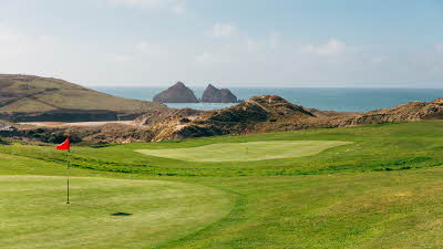 Offer image for: Holywell Bay Golf - Save 10% on all three courses.