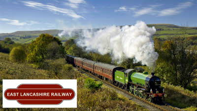Offer image for: East Lancashire Railway - Two for the price of one with a 'Freedom of the Line' ticket