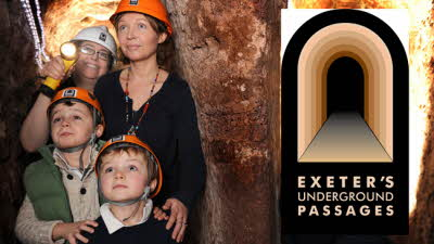 Offer image for: Exeter's Underground Passages - 10% discount on admissions