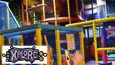 Offer image for: Xplore Soft Play - Two children for the price of one