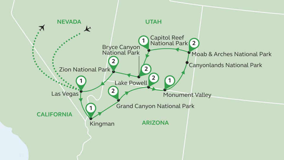 American Canyonlands Motorhome Tour | The Caravan Club