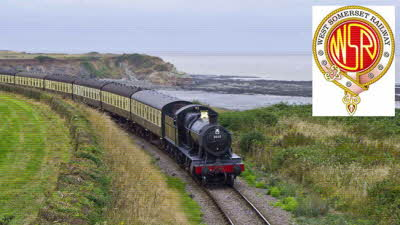 Offer image for: West Somerset Railway - Buy one Adult Day Rover Ticket and get one half price