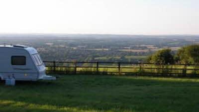 Freemantle Park Farm, RG26 5UD, field, sky, caravan