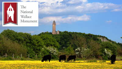 Offer image for: National Wallace Monument - Two for the price of one